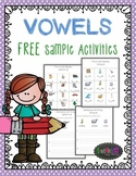Vowels - short and long Freebie