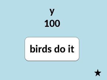 Short and Long i Jeopardy