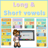 Short and long vowel games  Bundle