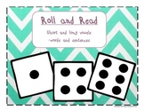 Short and long vowel roll and read