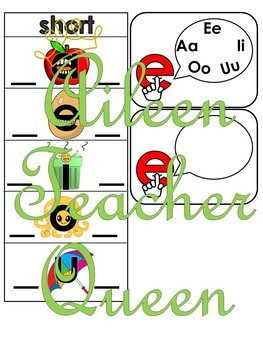 Short and long vowels chart