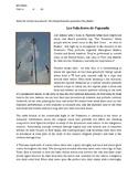 Short article and comprehension questions for Los Voladores de Papantla