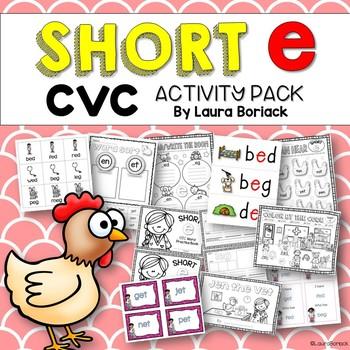 Short e CVC ~ Activity Pack