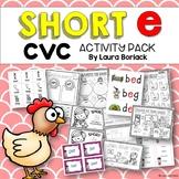 Short e CVC Activity Pack