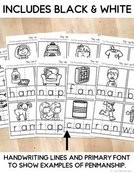 Short e CVC Games : CVC Puzzles
