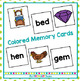 Short e CVC Word Memory Match Game