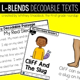 L Blends Decodable Readers and Passages