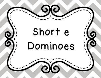Short 'e' Dominoes