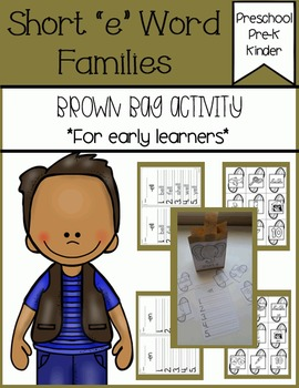 Short e Families Brown Bag Activity