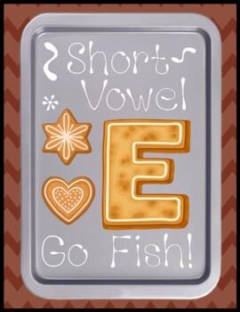 Short e Go Fish - Literacy Center Game