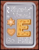 Short e Go Fish - Literacy Center Game