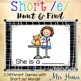 Short /e/ Hunt & Find PowerPoint Game