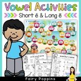 Short E & Long E (Games & Worksheets)