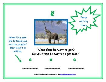 Short e Multisensory Lesson
