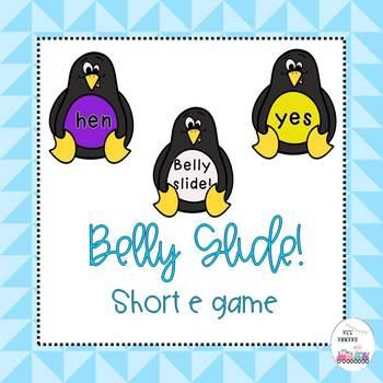 Short e Penguin Belly Slide!