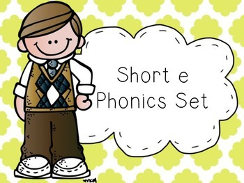 Short e Phonics Set