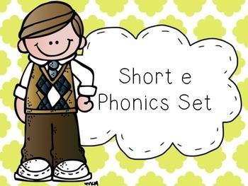 Short e Phonics Set