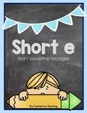 Short e Practice Pages