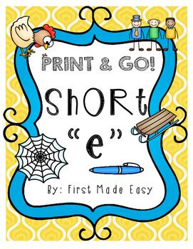 """Short Vowel """"e"""""""