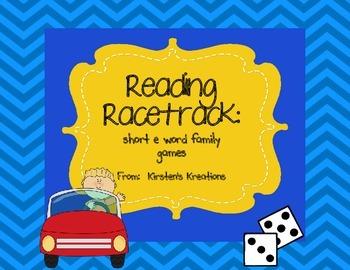 Short e Reading Racetrack