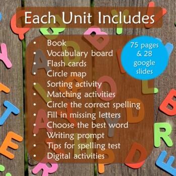 Short e Spelling Bundle for Special Education