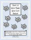 Short 'e' Vowel Word Sort Packet