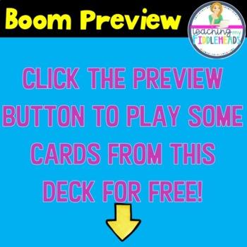 Short-e Word Apple Match CVC Boom Cards