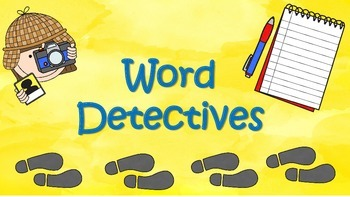 Short e Word Detectives