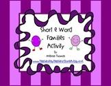 Short /e/ Word Families Activity: -et, -ed, -en, -eg, -est, -ell