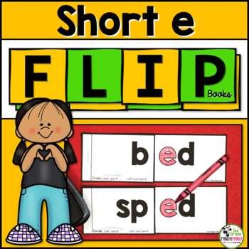 Short e Word Family FLIP Books