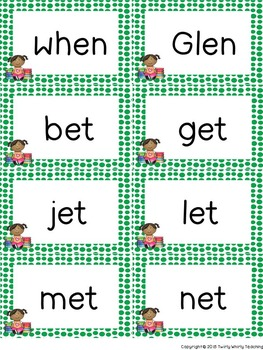 Short e Word Sorts Bundle