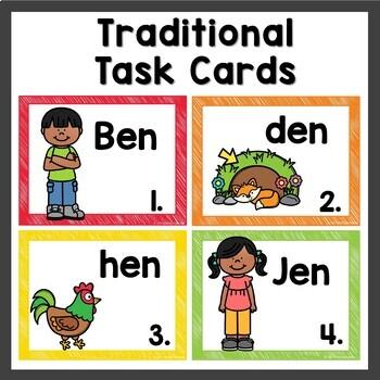 en Word Family Worksheets