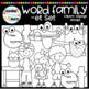 """Short e """"et"""" Word Family Clipart"""