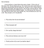 Short easy reading passages with 5 questions - Set 4 - 10