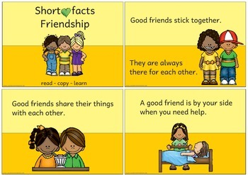 Short facts: Friendship
