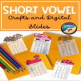 Short i worksheet and craft