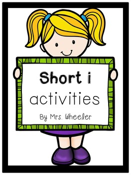 First Grade Phonics: Short i Games