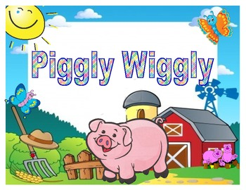 Short i Board Game (Piggly Wiggly)