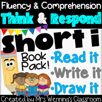 Short i Book: Think and Respond! 2 versions included!