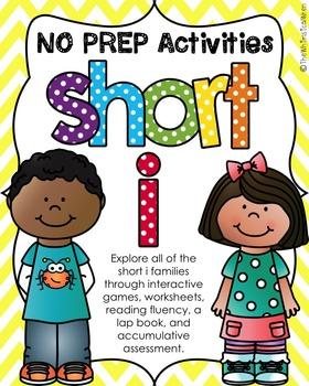 NO PREP Short i Bundle (all short i families)