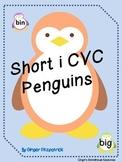 Short i CVC Penguin Card Game