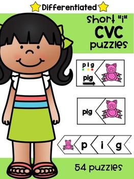 """Short """"i"""" CVC Puzzles"""