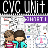 Short i CVC UNIT word work and interventions