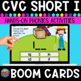 Short-i  CVC Word Family Boom Cards