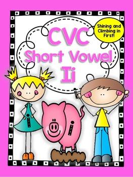 Short Vowel Ii CVC Word Work!
