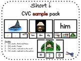 Short i, CVC sample pack