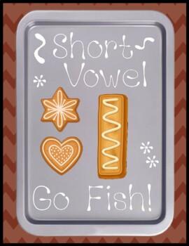 Short i Go Fish - Literacy Center Game