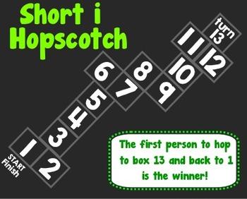 Short i Hopscotch Game