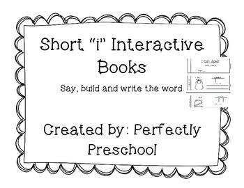 "Short ""i"" Interactive CVC Book"