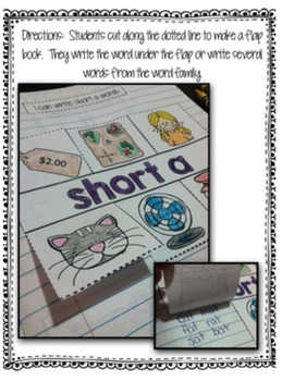 Short Vowel Interactive Notebook Short i